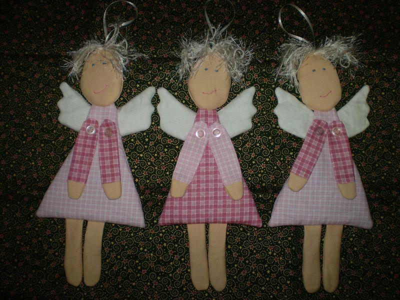 Textil angyalkák