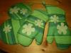 Zöld konyhai szett