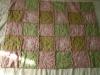 Szivecskés rojtos takaró