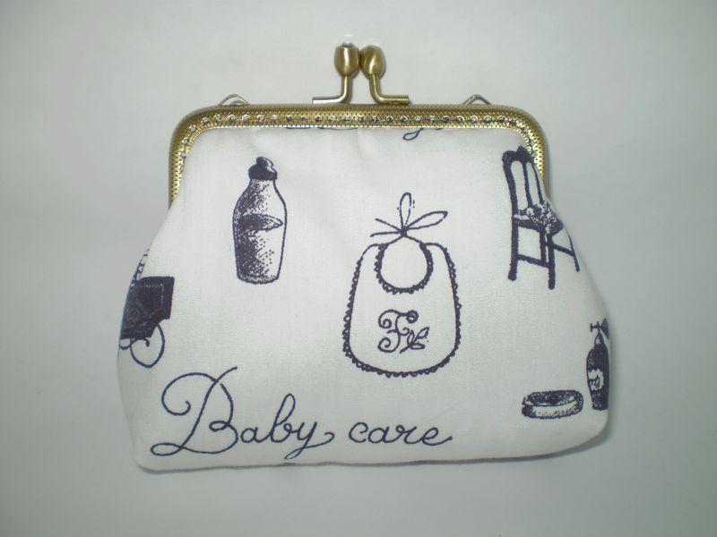 Hófehér bébis tárca