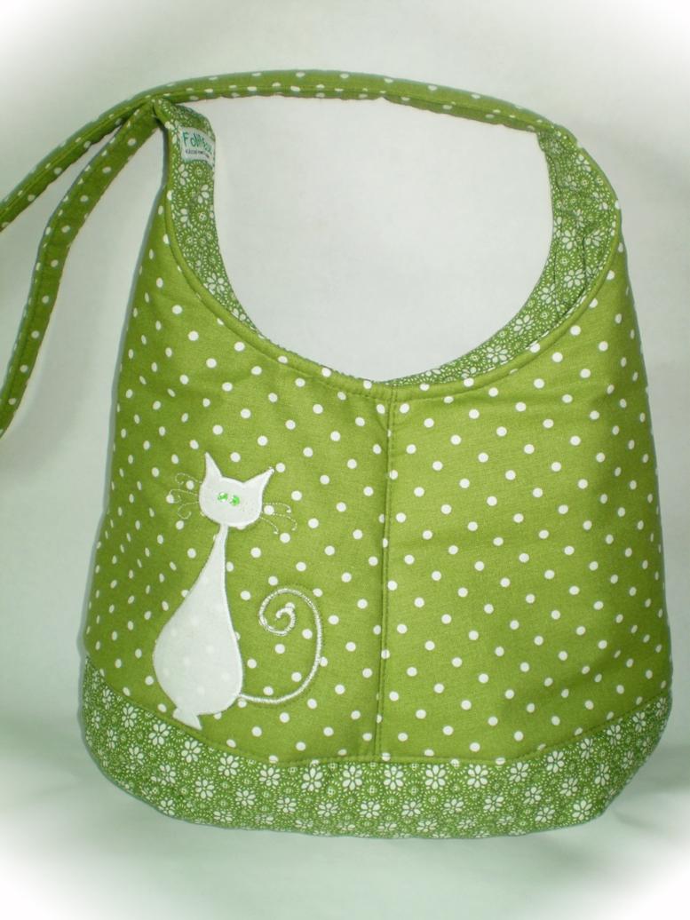 nyári táska cicával