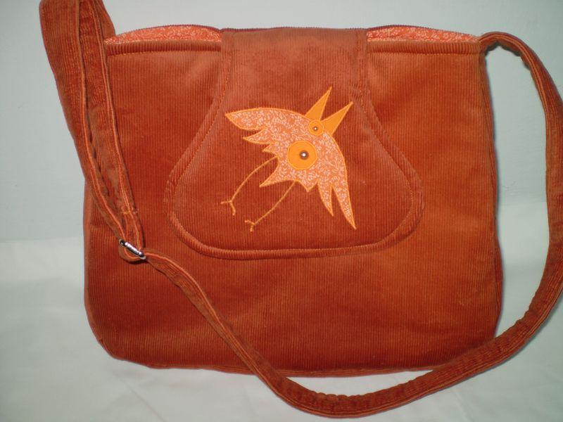 Bársony táska