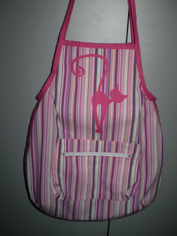 csíkos cicás nyári táska