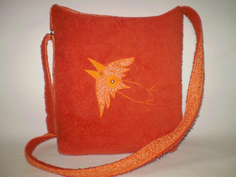 puha madaras táska