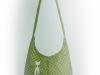 zöld pöttyös táska cicussal