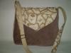 Barna cimkés táska