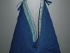 Kék kifordítható táska