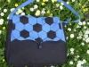 Kék focis női táska
