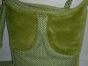 Zöld gondoskodó táska