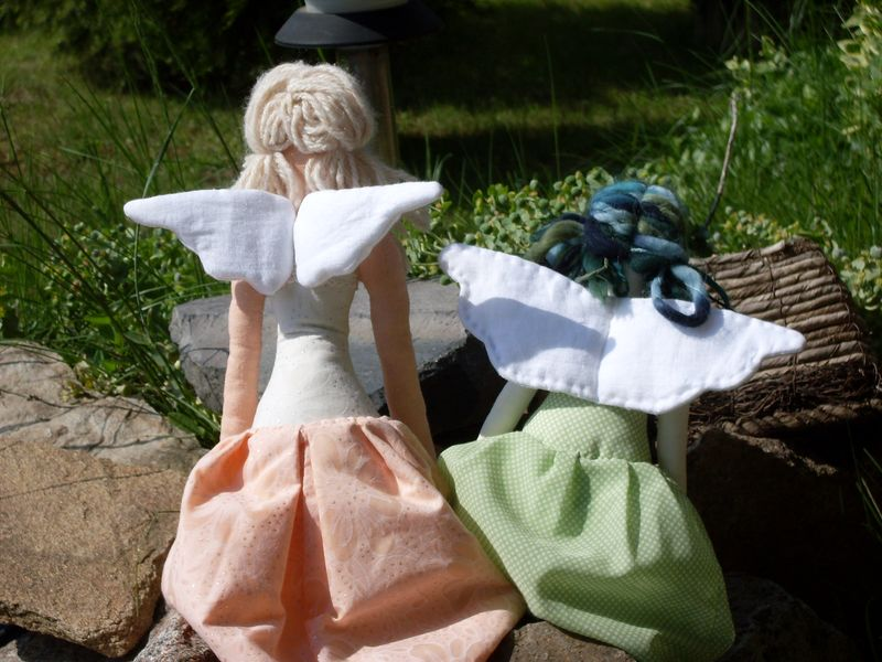 Angyalok a kertben