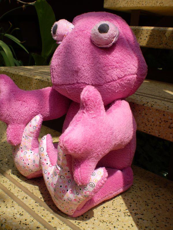 Rózsaszín béka
